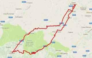 Atletica: 50km  25aprile  podismo