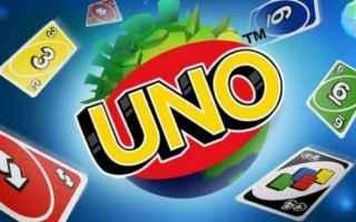 Mobile games: gioco di carte  videogame  uno