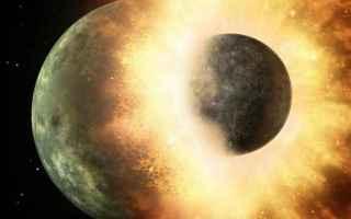 Astronomia: pianeta perduto  collisione