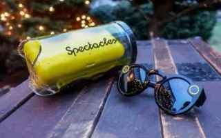Gadget: occhiali smart  snapchat