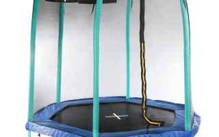 Mobile games: giocattoli trampolino giardino