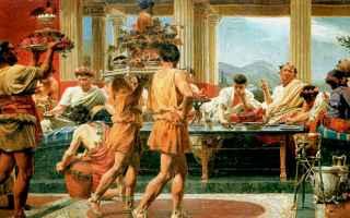 Storia: antica roma banchetti romani
