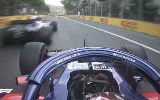 Formula 1: baku  toro rosso  hartley  gasly