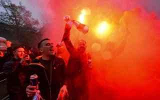 Il viminale sta prendendo misure di rilievo per il flusso di turisti-sportivi da Liverpool che nei p