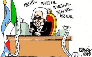 Satira: Do not vote, that of Mattarella will be a buffer government