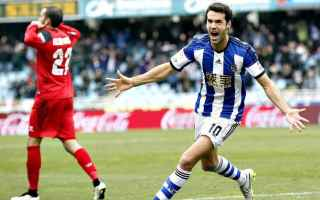 Calcio Estero: siviglia  liga  real sociedad