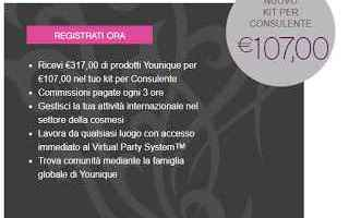 Lavoro: makeup younique kit job network lavoro
