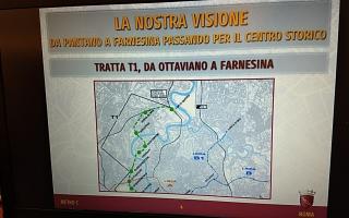 Roma: metro c  trasporto pubblico