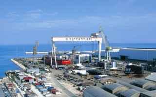 militari  fincantieri  nave  roma
