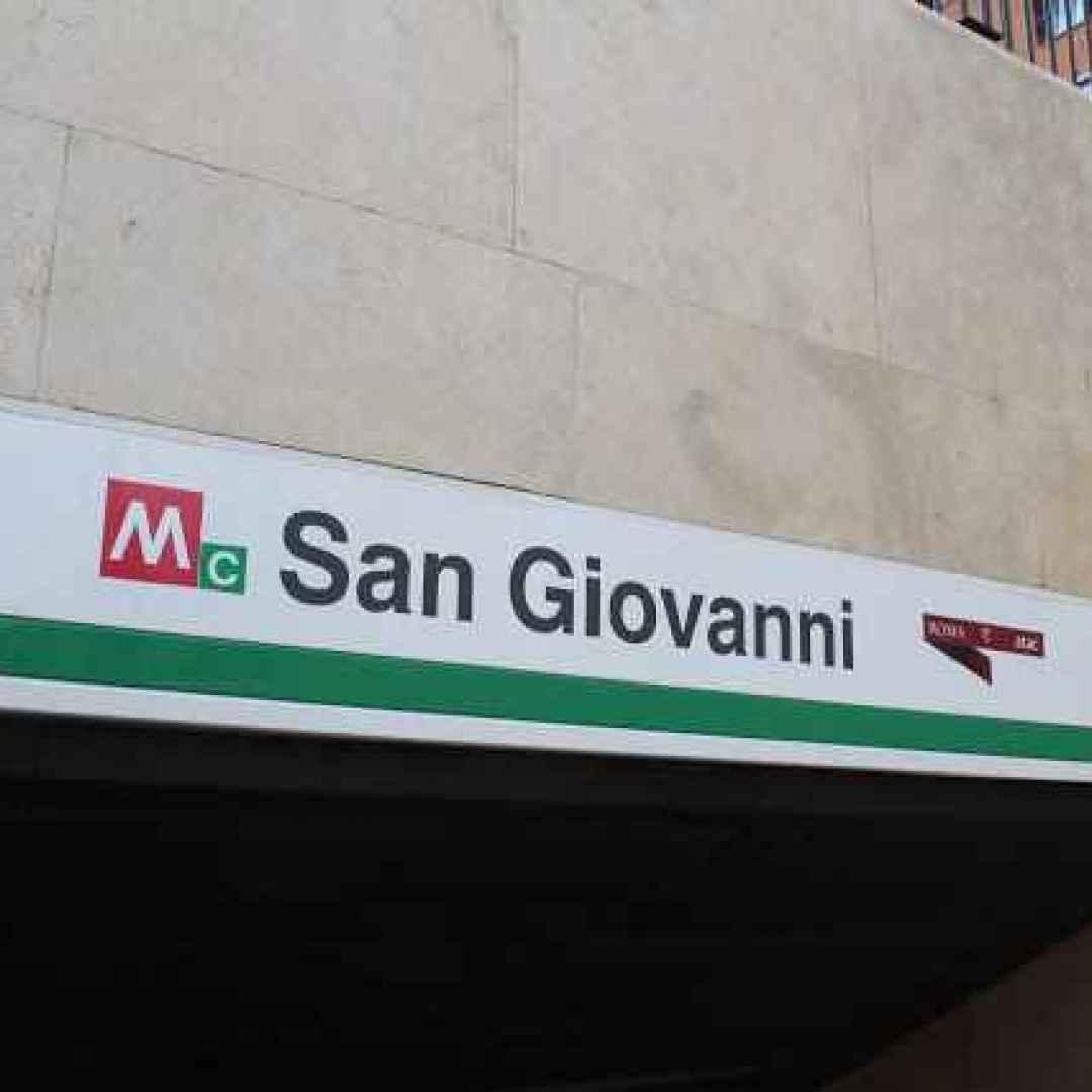 metro c  roma  san giovanni