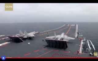 dal Mondo: cina  navi  portaerei  militari  guerra