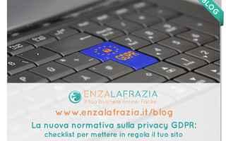 Webmaster: gdpr  privacy  legge sulla privacy
