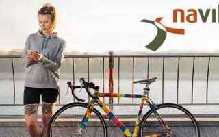 Ciclismo: navigatore  bicicletta  android  iphone  app