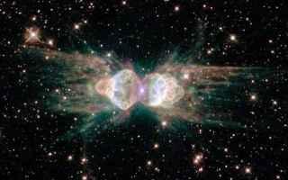 Astronomia: herschel  nebulosa formica  laser