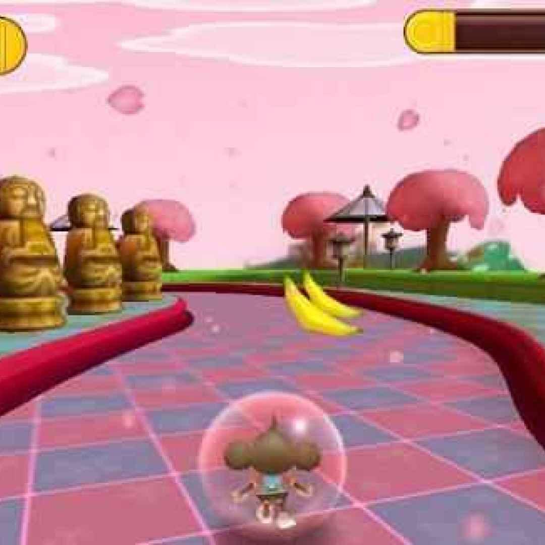 monkey ball  sega  videogame