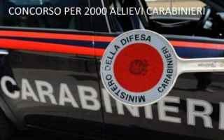 Lavoro: carabinieri  concorsi  bandi  p.a