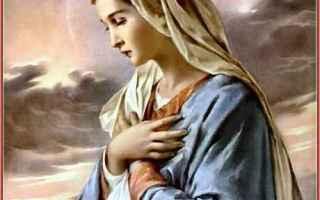Religione: maria  perfetta  santissima  vergine
