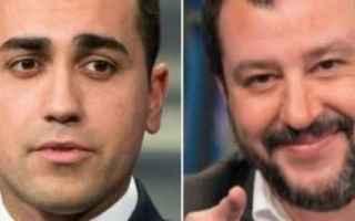 Politica: salvini  di maio  governo  lega  m5s