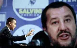 Politica: giustizia  governo  di maio  salvini