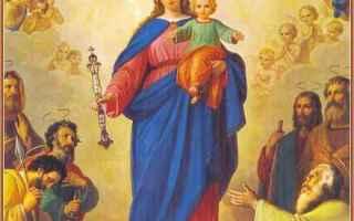 Religione: maria ausiliatrice  mediatrice