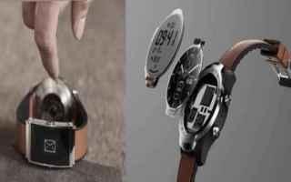 Gadget: smartwatch  mobvoi  montblanc