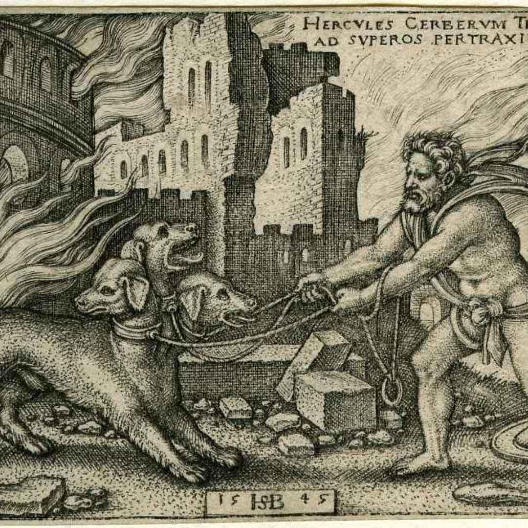 asperità  eracle  imprese  mitologia