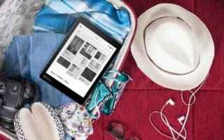 Tablet: kobo  ebook reader