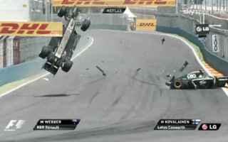 Formula 1: formula 1  red bull  incidenti
