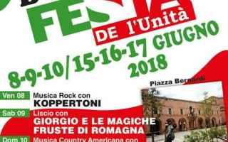 Bologna: castel bolognese  festa unita. pd