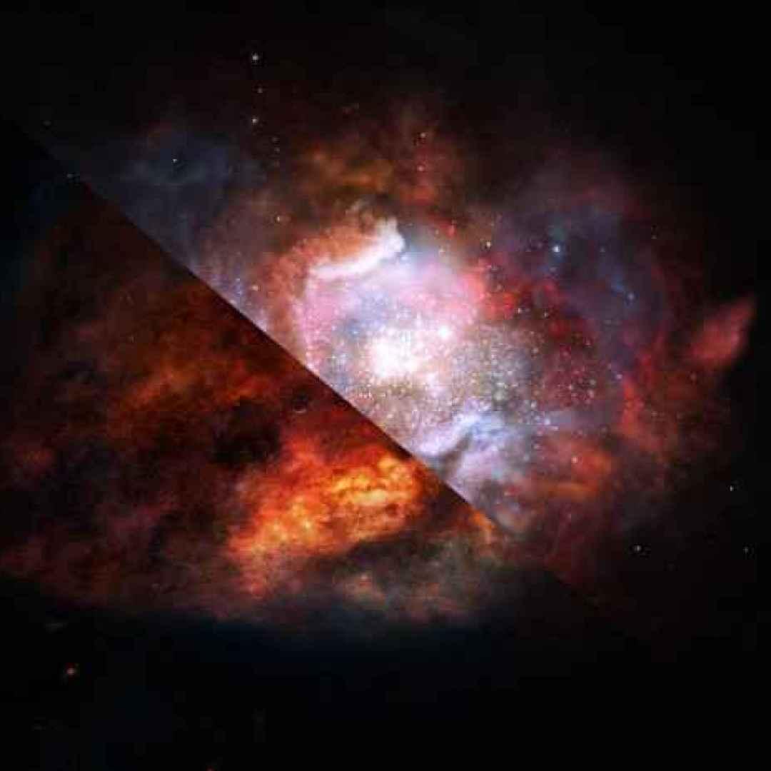 alma  galassie  stelle