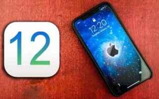 iPhone - iPad: ios 12  os  apple