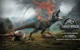 jurassic world film il regno distrutto