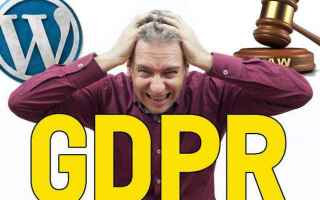 Webmaster: gdpr  cookie  privacy  wordpress