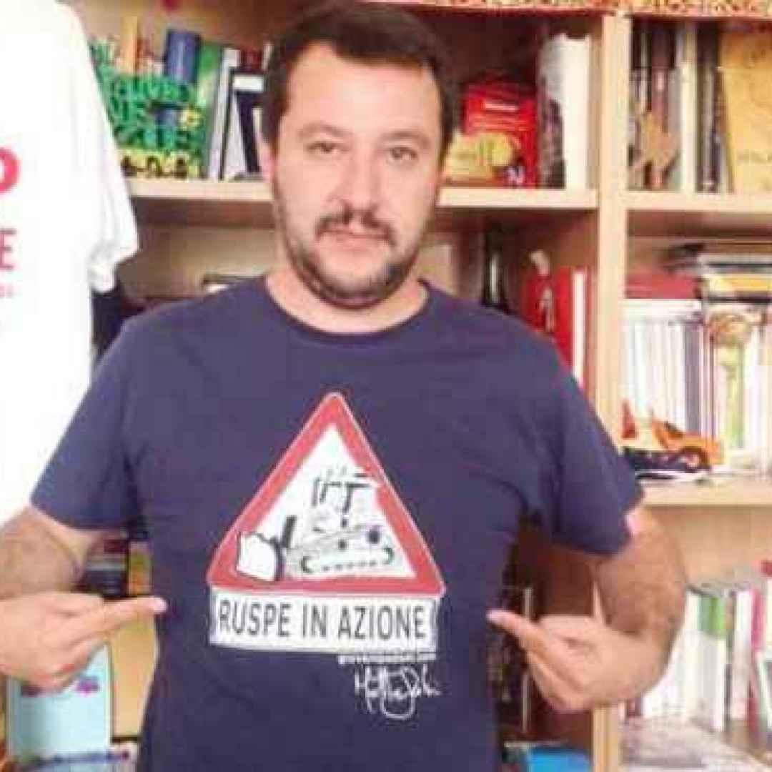 immigrazione  salvini  italia  sud