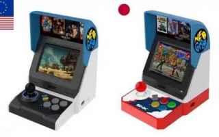 Console games: neo geo  consolle  cabinato  retro