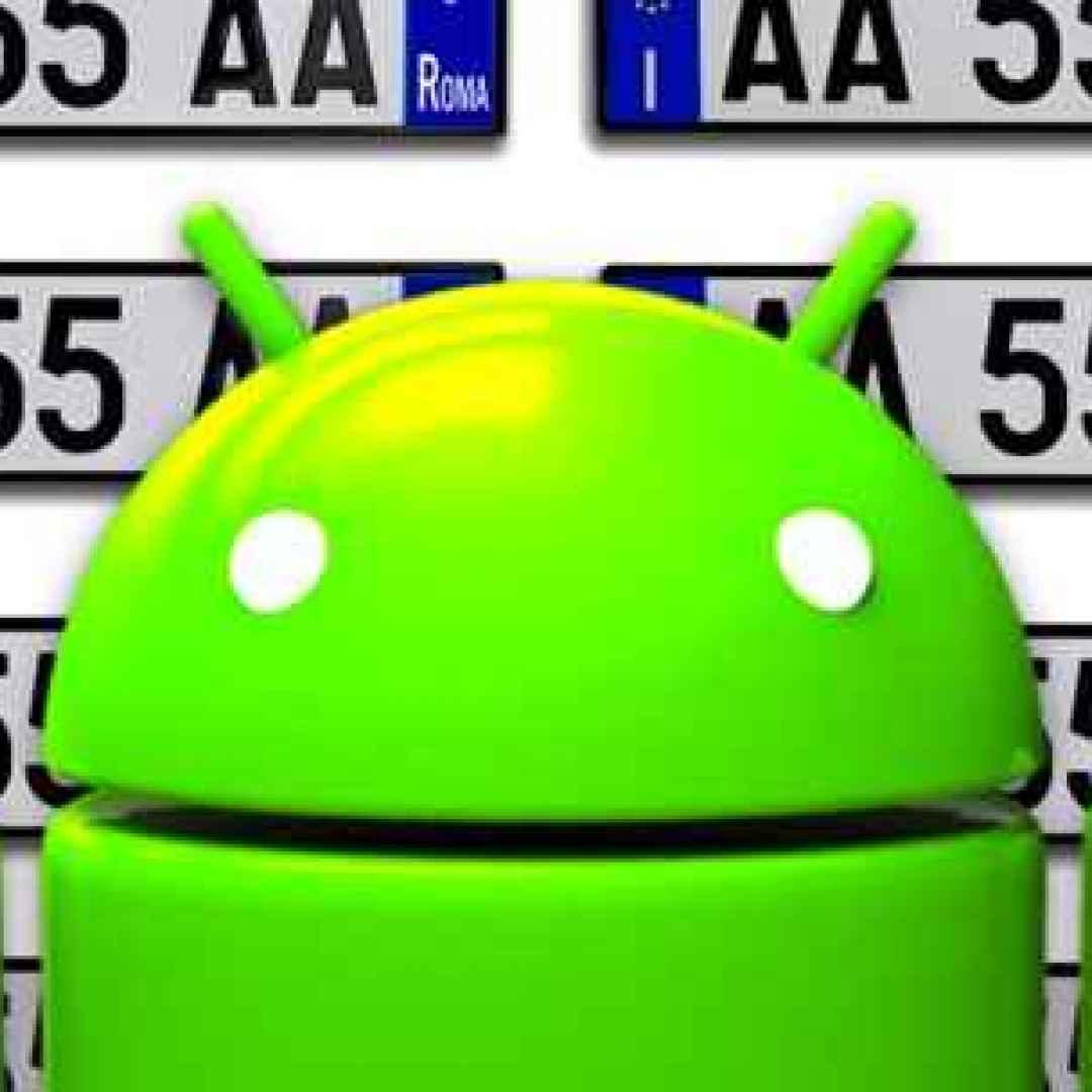 auto  targa  furti  rca  android