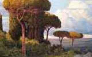 Arte: campagna romana   paesaggi  pittore