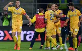 Serie B: frosinone  palermo