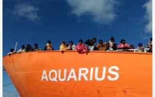 Politica: immigrazione  aquarius  salvini