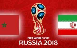 Marocco-Iran (Mondiali Russia2018) diretta streaming GRATIS  alle 17.00. Come vederlaMarocco (3-4-1-