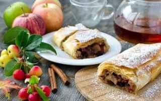 Ricette: ricette  borghi  dolce  strudel  mele