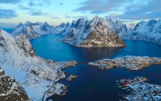 Video online: norvegia drone 4k video