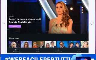 Software Video: mediaset  play  app  streaming