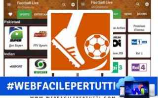 App: football live on tv  app  streaming  calcio