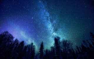 Astronomia: fotografia stelle cielo universo