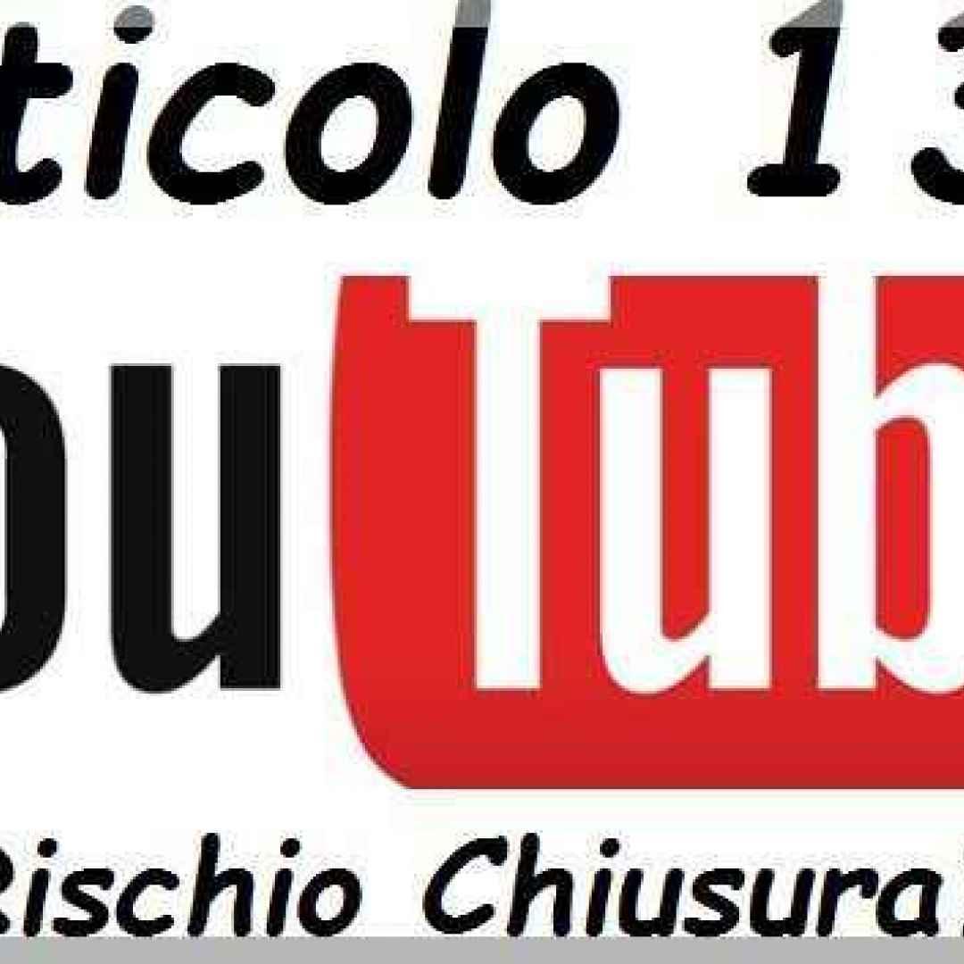 youtube  articolo 13