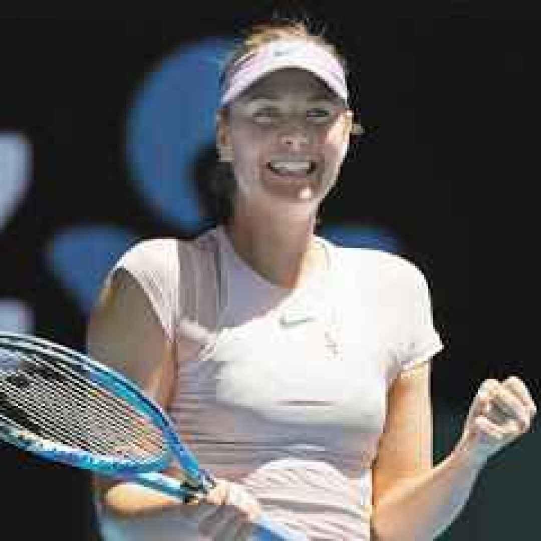 tennis grand slam news sharapova