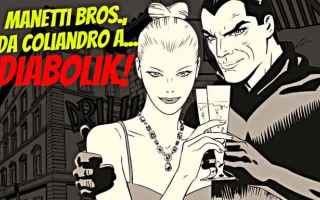 Cinema: coliandro  manetti bros.  diabolik