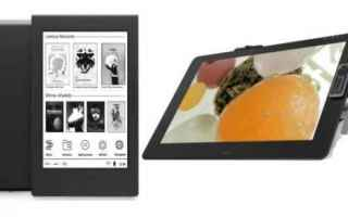 Tablet: ereader  display