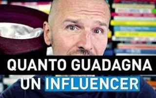 Soldi Online: influencer guadagnare soldi video